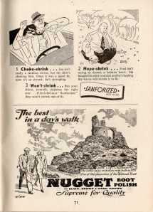 London Opinion 1947 - Adverts by Nicolas Bentley