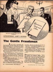 The gentle fraudsman