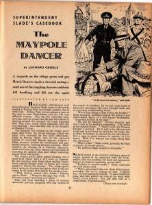 The Maypole Dancer