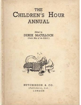 Children's Hour Annual 1937, Title Page