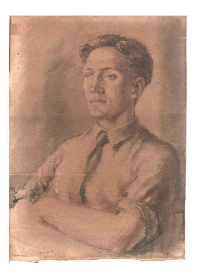 Jack Blackburn 1944 by Leslie Caswell