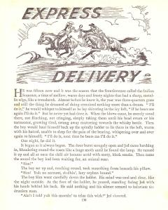 """Express Delivery"" illustrated by Ron Embleton"
