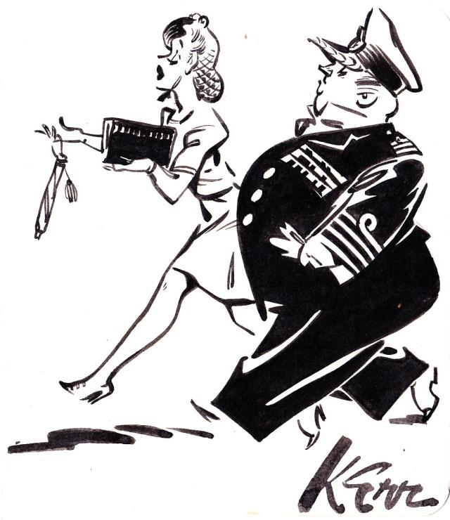 Kerr cartoon